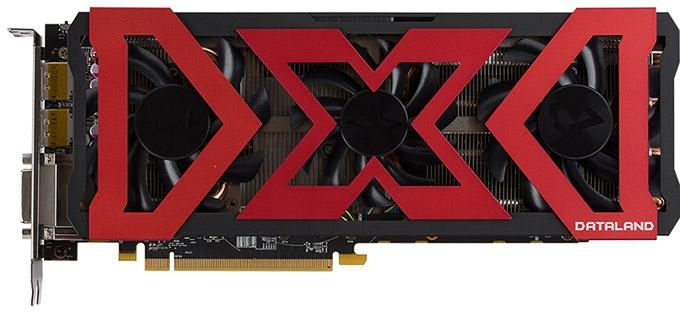 Видеокарта Dataland Radeon RX 480 4G X-Serial