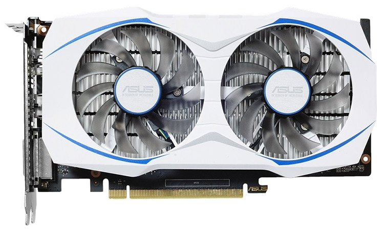 Видеокарта GeForce GTX 1050 OC Dual (модель DUAL-GTX1050-O2G)