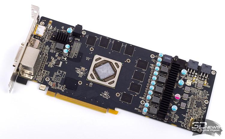 Печатная плата Sapphire Dual-X R9 285 OC