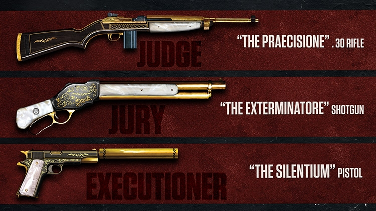 DLC Judge, Jury & Executioner Weapons Pack