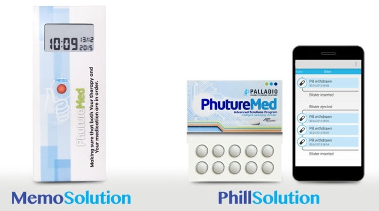 «Умная» упаковка лекарственных препаратов с экраном E Ink (Palladio Group)