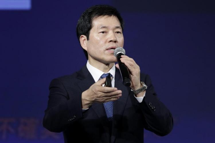 Ким Та-хан (Kim Tae-han) Президент и исполнительный директор Samsung BioLogics (фото — Kiyoshi Ota/Bloomberg)