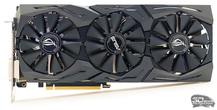 ASUS ROG Strix Radeon RX 480: одна из карт альтернативного дизайна