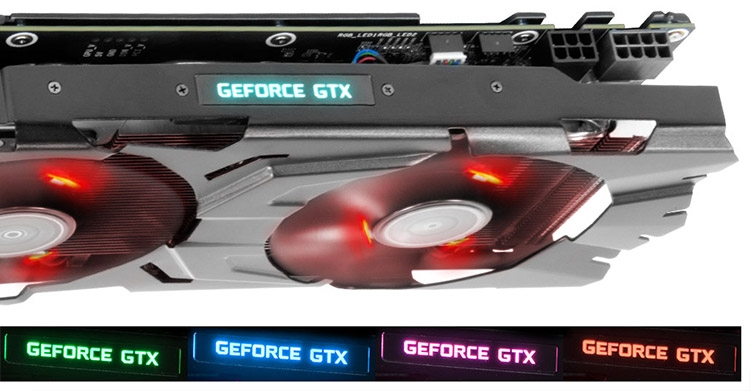 Видеокарта GALAX GeForce GTX 1070 EXOC