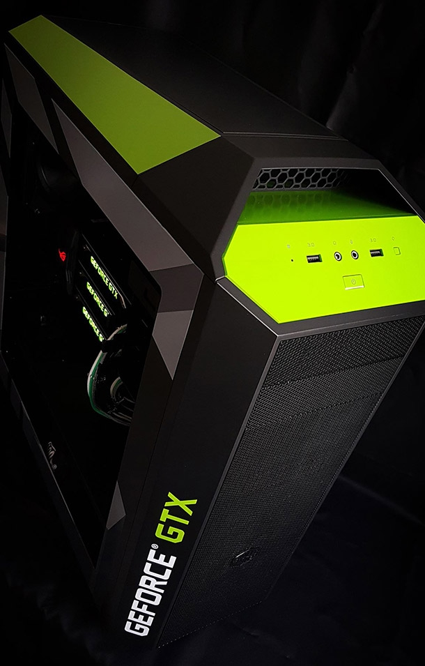 Mid-Tower корпус Cooler Master MasterCase Pro 5 NVIDIA Edition (MCY-005P-KWN00-NV)