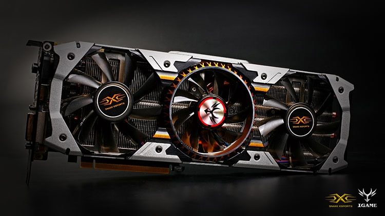Видеокарта Colorful GeForce GTX 1070 iGame X-TOP Snake