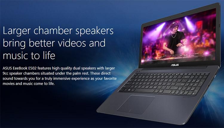 Ноутбук ASUS E502NA