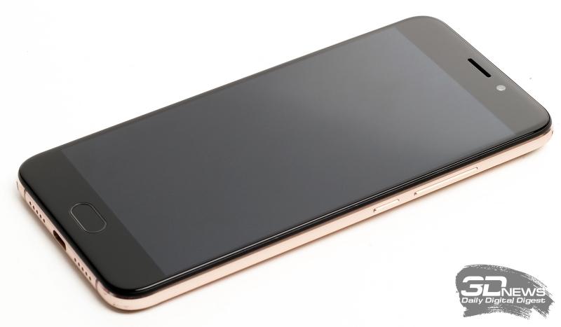 UMi Plus – лицевая панель