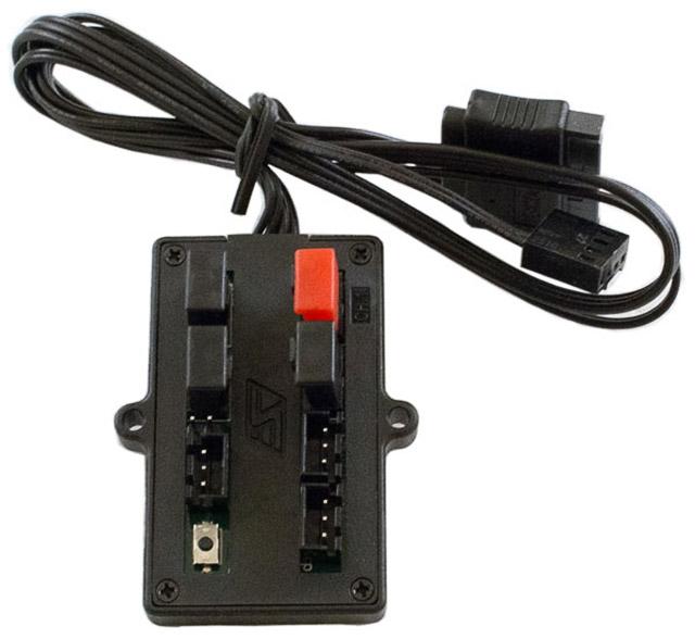 Iris-Eco поддерживает дистанционное управление подсветкой (требуется ИК-приёмник)
