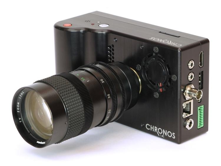 Скорострельность Chronos 1.4 достигает 21,6 тысяч кадров в секунду