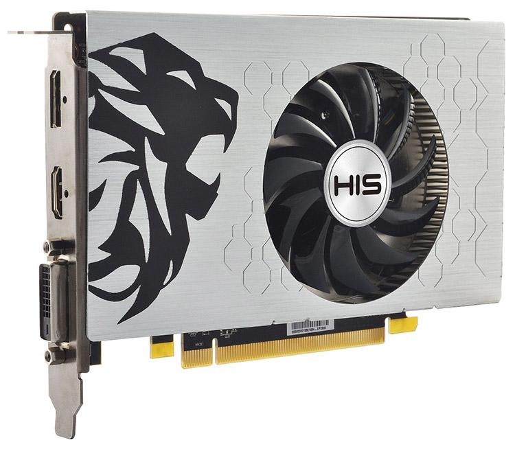 Видеокарта HIS Radeon RX 460 Slim-iCooler OC 4GB