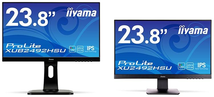 Монитор Iiyama ProLite XU2492HSU/XUB2492HSU