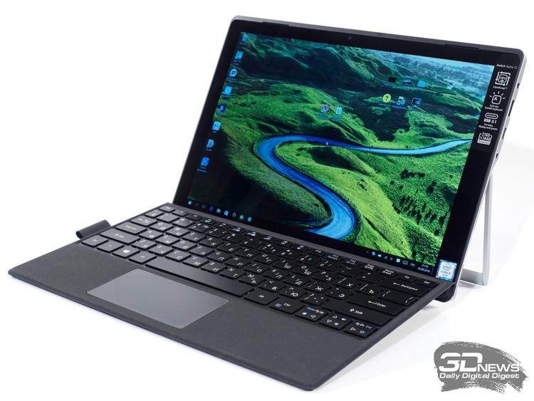 Гибридные решения с присоединяемыми клавиатурами составляют уже более половины рынка планшетов стоимостью более 600 евро