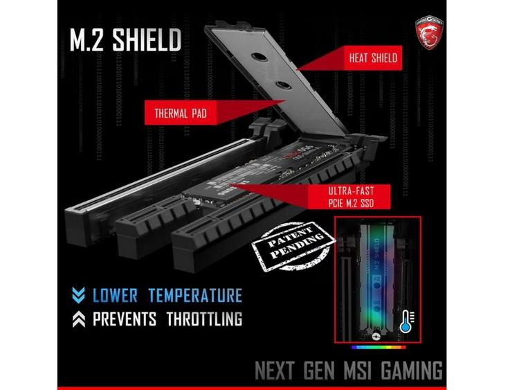 Решение MSI выглядит гораздо логичнее, вопрос лишь в эффективности термоинтерфейса