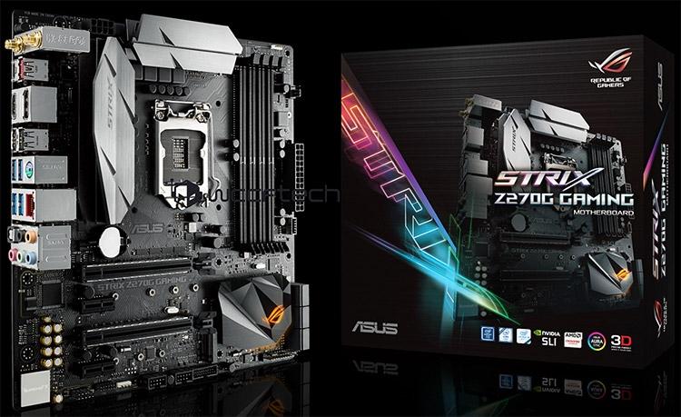 Материнская плата ASUS Strix 270G Gaming