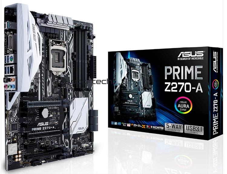 Материнская плата ASUS Prime Z270-A