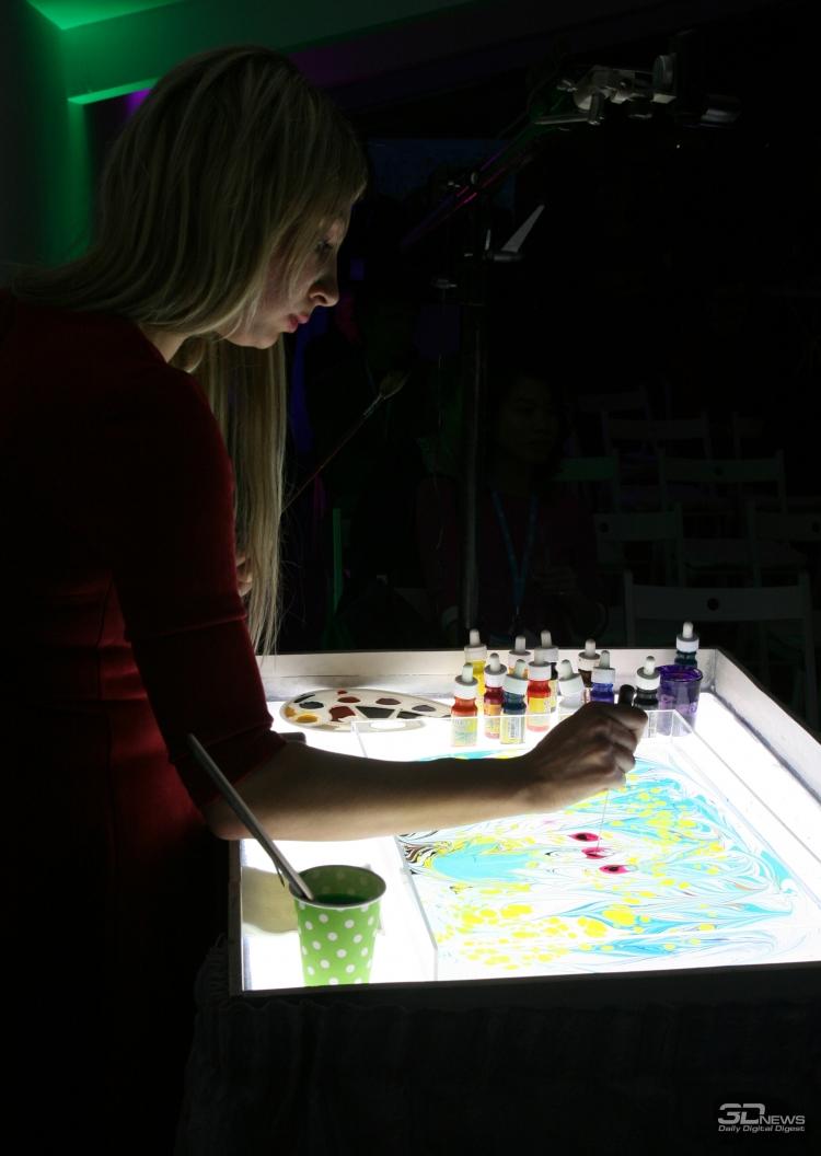 искусство рисования на воде презентация