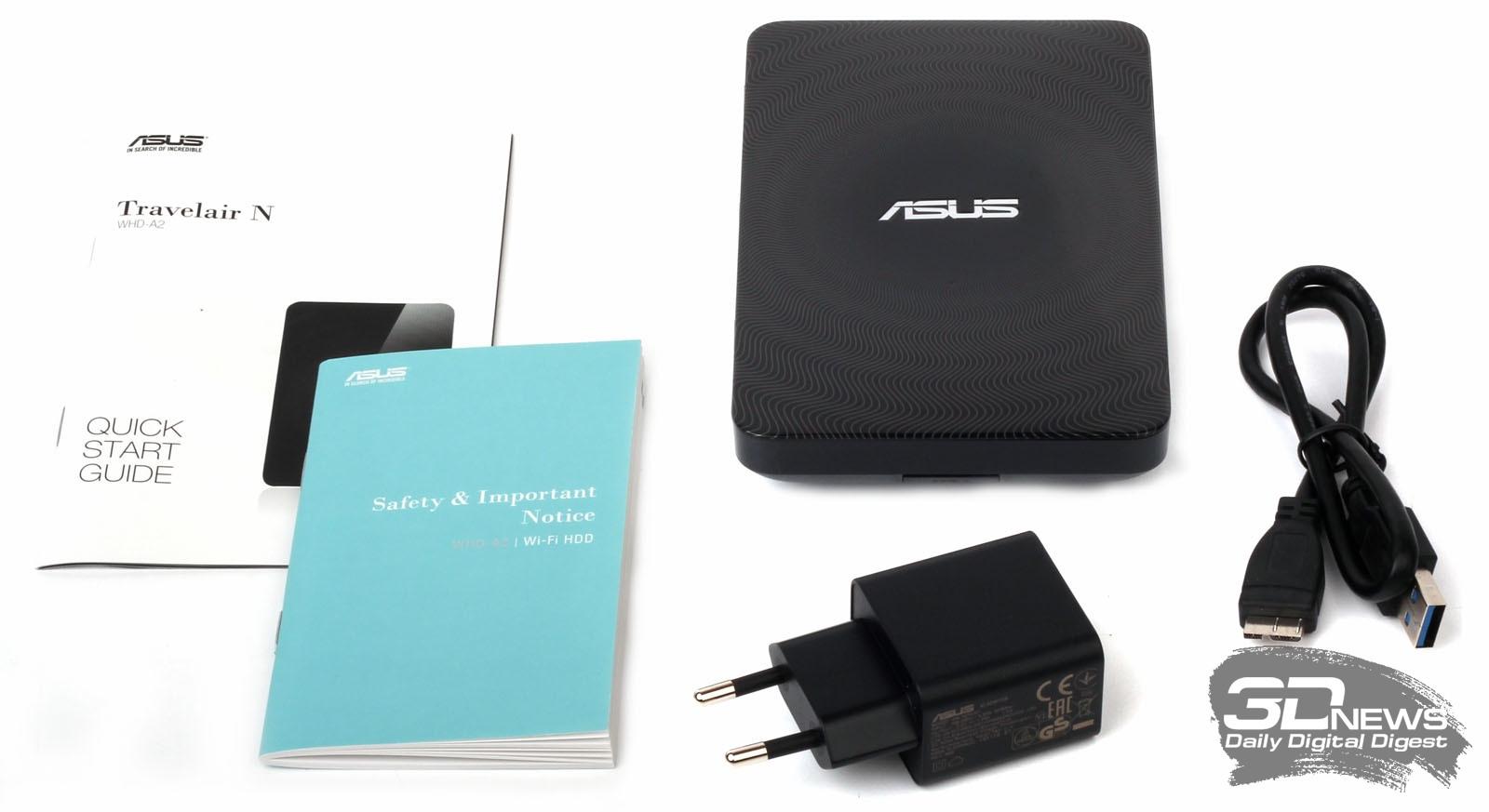 Asus Travelair N Wireless Harddisk Eksternal 1tb