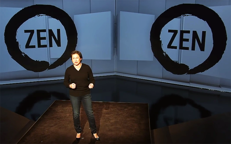 Лиза Су, AMD Zen