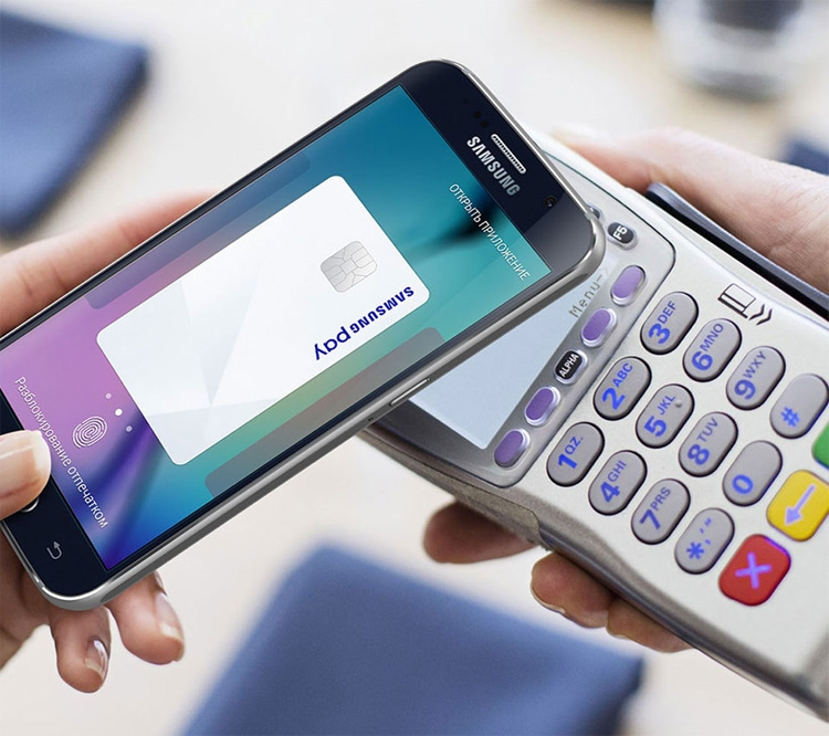 Samsung pay или apple pay 2017
