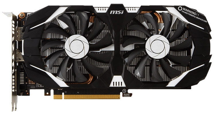 MSI GeForce GTX 1060 3GT OC