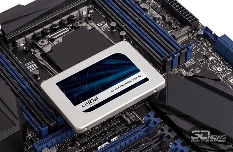 Лучшее соотношение цена-производительность: Crucial MX300