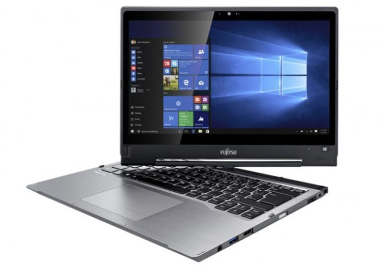 Ноутбук-трансформер Fujitsu Lifebook T937 получит поворотный экран и чип Intel Kaby Lake