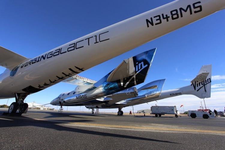 Virgin Galactic завершила программу 2016 года вторым испытательным полётом SpaceShipTwo