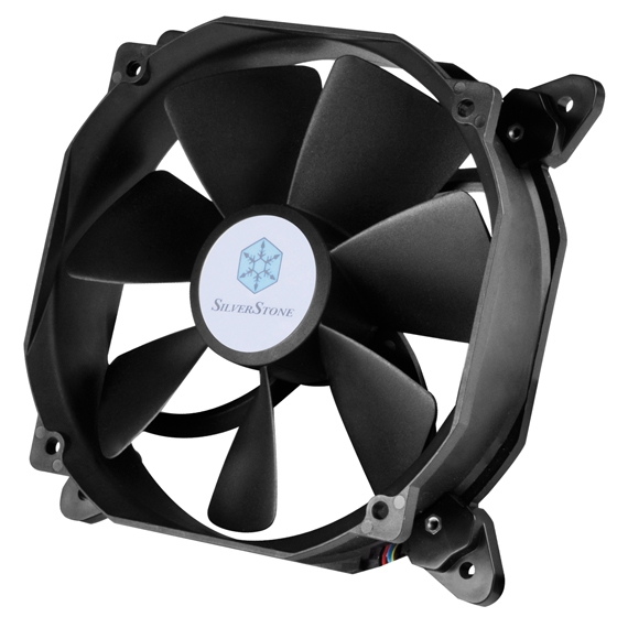 SilverStone представила новые мощные вентиляторы