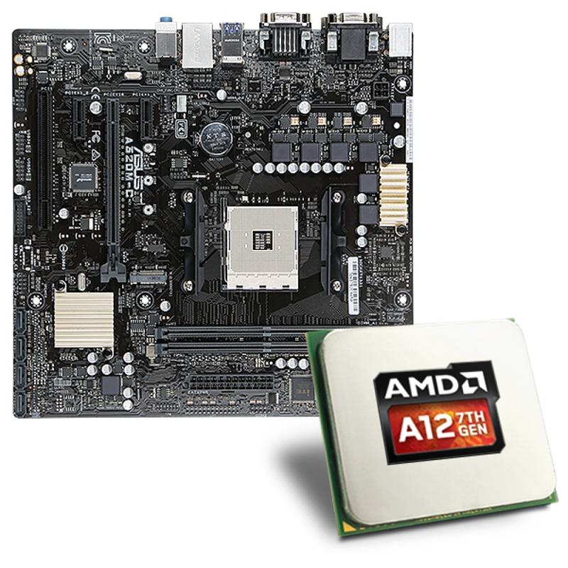 Скоро на прилавках: AMD A12-9800 и Socket AM4-платы