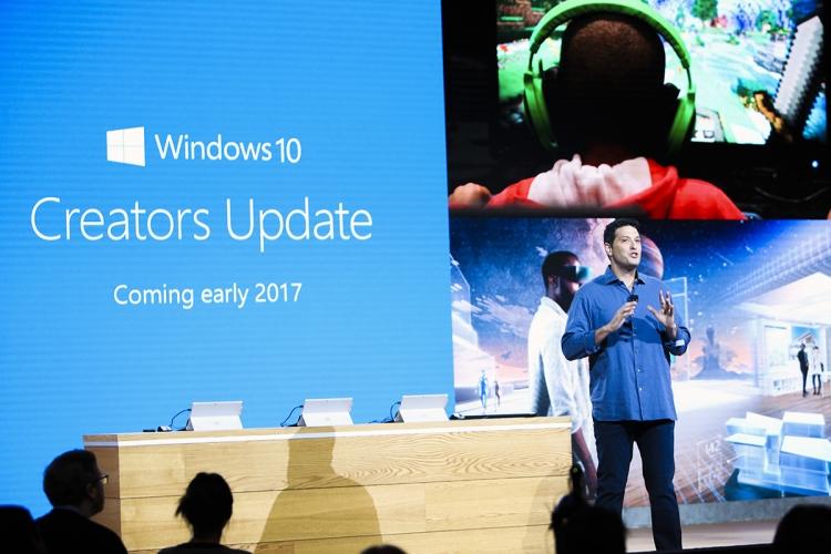 Обновление Creators Update для Windows 10 может выйти в апреле