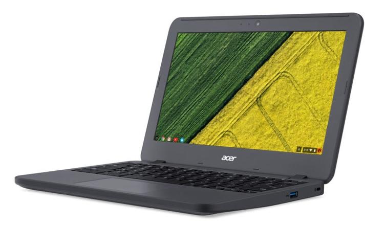 CES 2017: Acer Chromebook 11 N7 станет надёжным помощником для учащихся