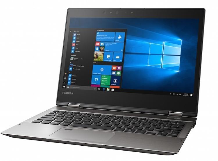 CES 2017: ноутбук-трансформер Toshiba Portege X20W работает без подзарядки 16 часов