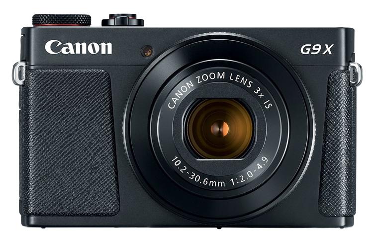 CES 2017: фотокамера Canon PowerShot G9 X Mark II с улучшенным стабилизатором изображения