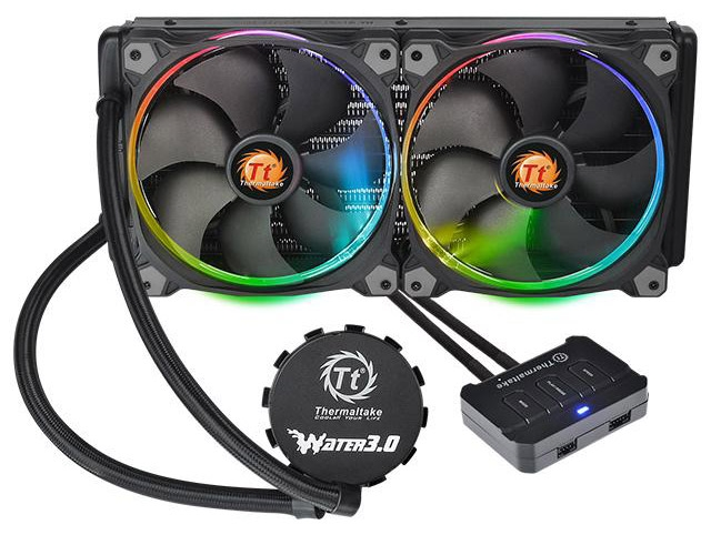 СЖО Thermaltake Water 3.0 Riing RGB 280