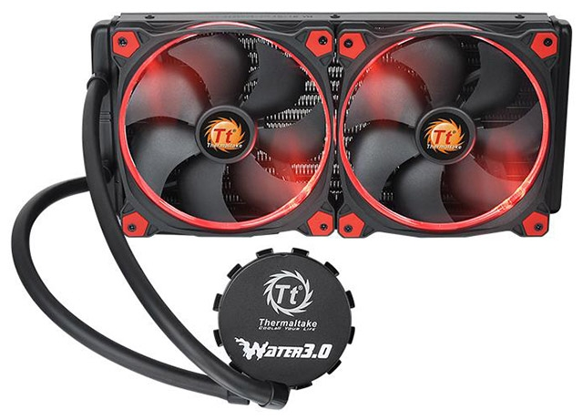 СЖО Thermaltake Water 3.0 Riing Red 280