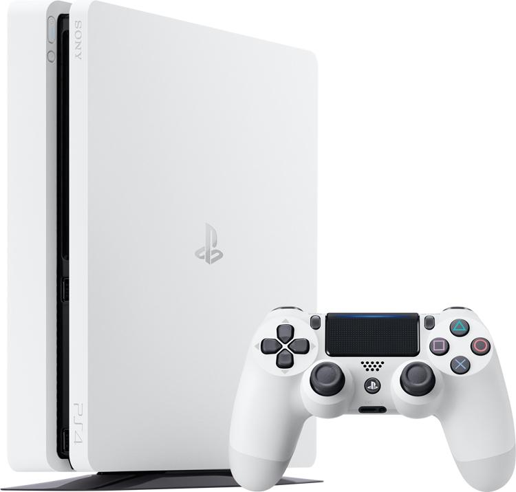 Консоль PlayStation 4 Slim предстала в цвете Glacier White