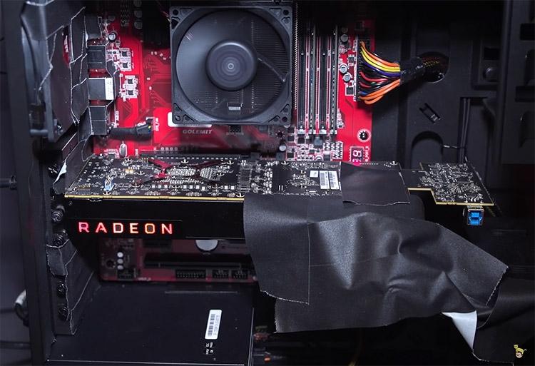 Прототип AMD Vega 10