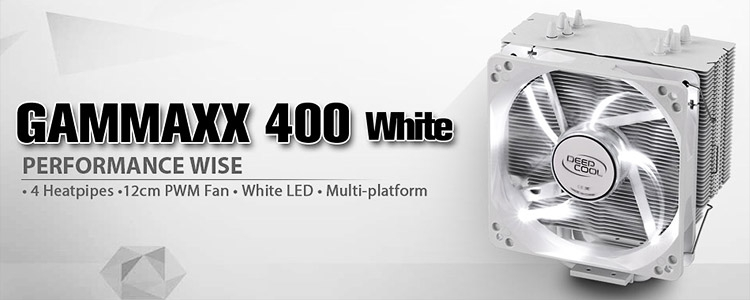 Кулер Deepcool GAMMAXX 400 White