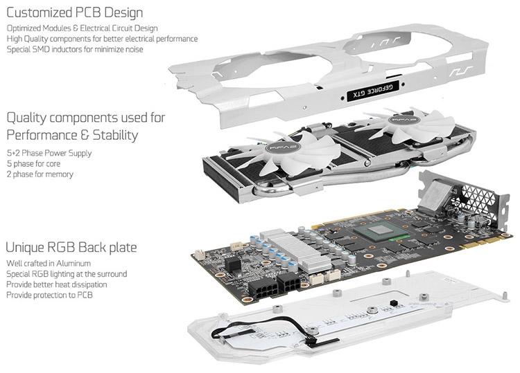 KFA2 GeForce GTX 1080 EXOC Sniper White