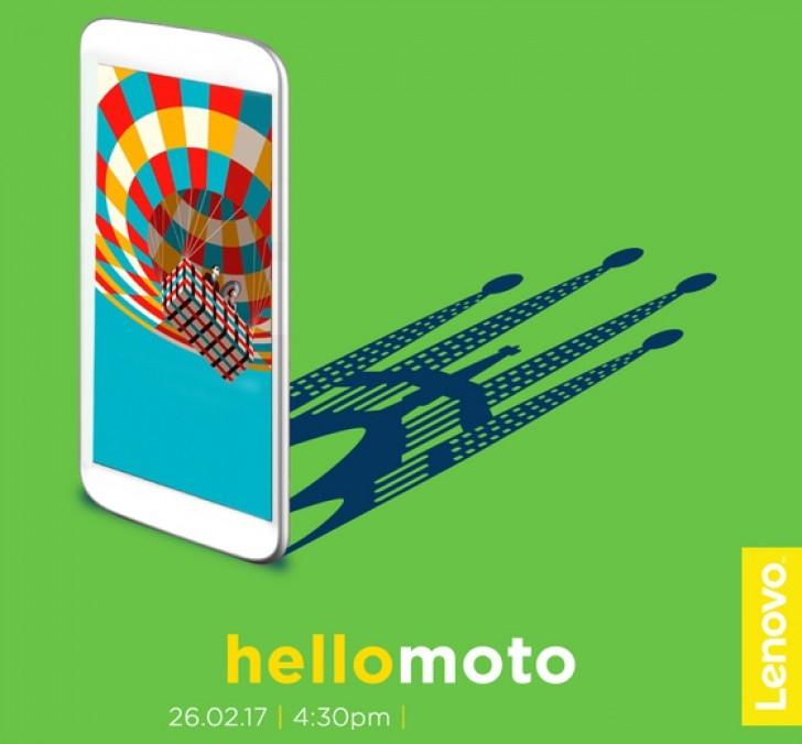 26 февраля Motorolaпредставит новый смартфон серии G5