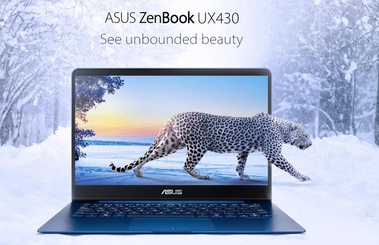 Ноутбук ASUS ZenBook UX430