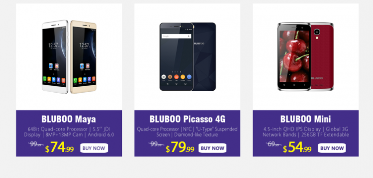 BLUBOO объявила о проведении акции BLUBOO Spring Festival Super Deal