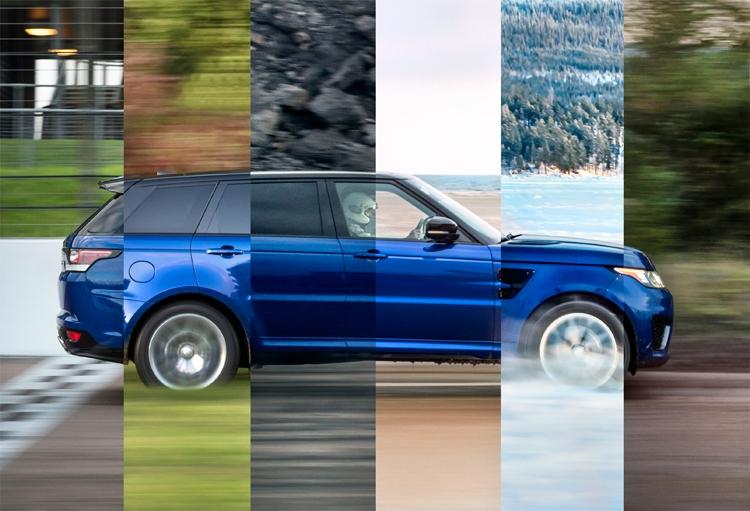 Внедорожник Range Rover Sport SVR прошёл уникальный тест динамики разгона