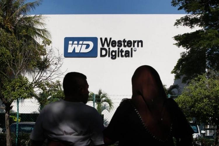 Western Digital отчиталась о доходах выше ожиданий рынка