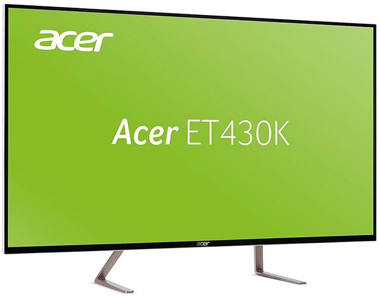 43-дюймовый UHD-монитор Acer ET430K замечен в продаже