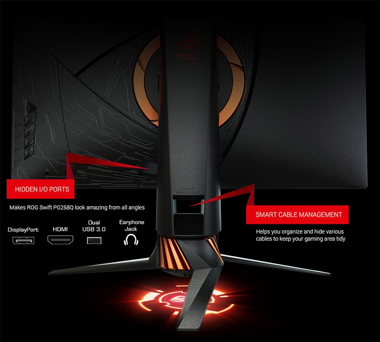 Монитор ASUS ROG Swift PG258Q