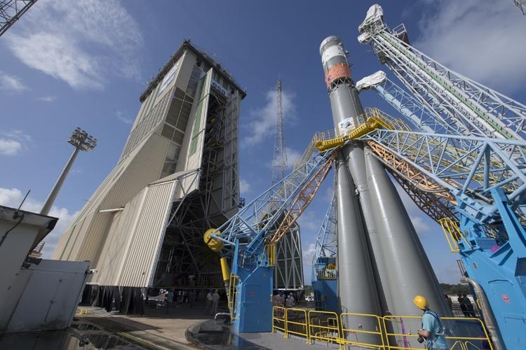 Вторая пошла: трансляция пуска ракеты «Союз 2.1-б» с ...