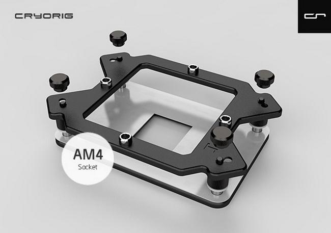 CRYORIG предлагает единую унифицированную систему крепления AM4