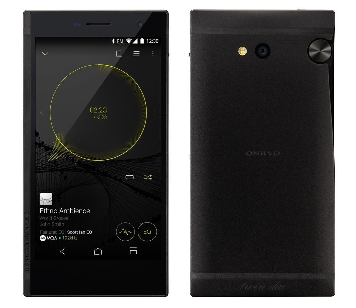 Onkyo Granbeat: первый в мире музыкальный смартфон с двумя усилителями